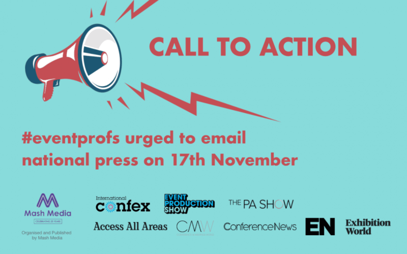 UK call to action: #Eventprofs urged to join email campaign