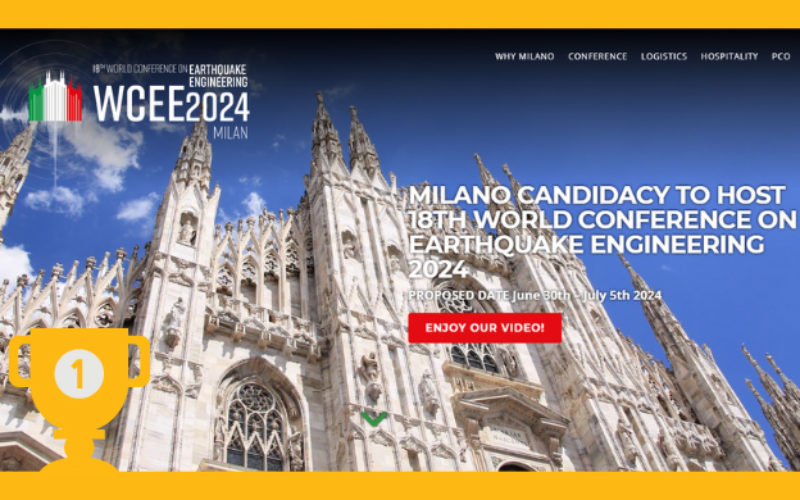How the earth shook for Milan's WCEE seismic conference bid 2024