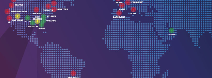 GES launches Global Event Tracker to map where in the world events can take place