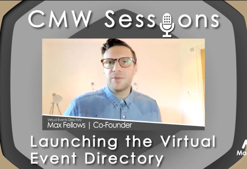 CMW Sessions: Launching the Virtual Event Directory