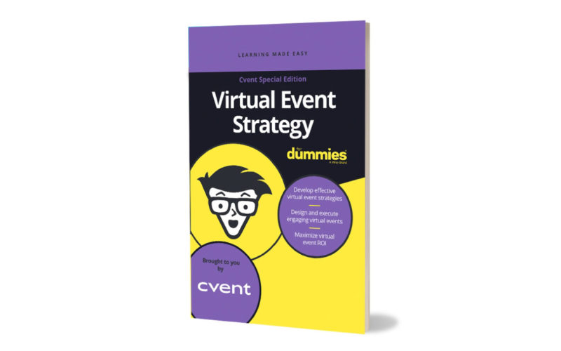 Cvent releases 'Virtual Event Strategy for Dummies'