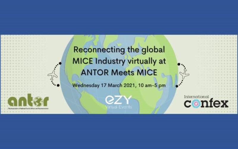 ANTOR partners with International Confex on first virtual MICE event