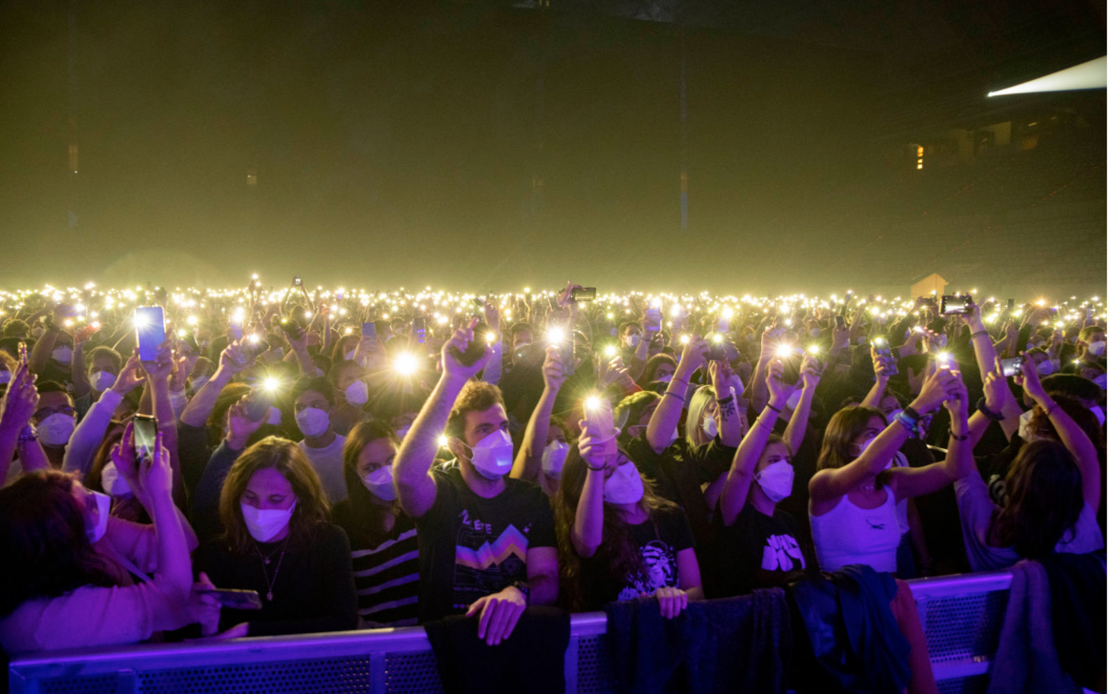 Barcelona pilot show for 5,000 concert-goers hailed a success by organisers  - CMW