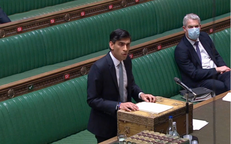 UK chancellor extends furlough scheme to end of September, with concessions on rates and VAT