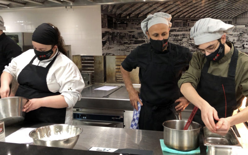 RAI Amsterdam opens its kitchens for local training and charity meals
