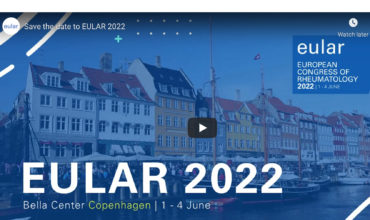 EULAR European Congress of Rheumatology returns to Copenhagen in 2022