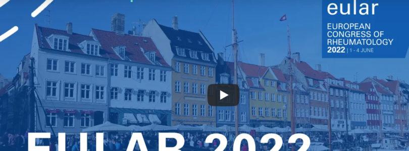 EULAR European Congress of Rheumatology returns to Copenhagen in 2022