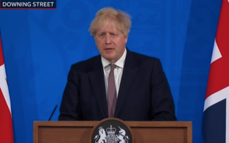 PM confirms England will take Step 3 out of lockdown on 17 May