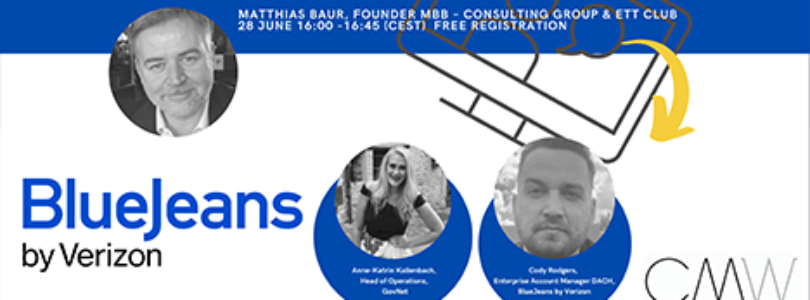 CMW partnering with BlueJeans for multilingual webinars