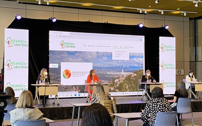 Colombian Convention Bureaux Network launches reactivation strategy at Bogota hybrid media briefing