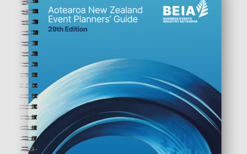 New, 29th edition of Aotearoa New Zealand Event Planners' Guide released