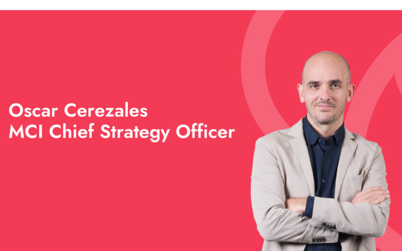 Oscar Cerezales appointed MCI chief strategy officer