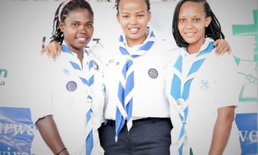 Could Girl Guides all over Africa become beekeepers?