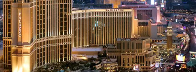 New accent on The Venetian at Vegas expo and convention resort
