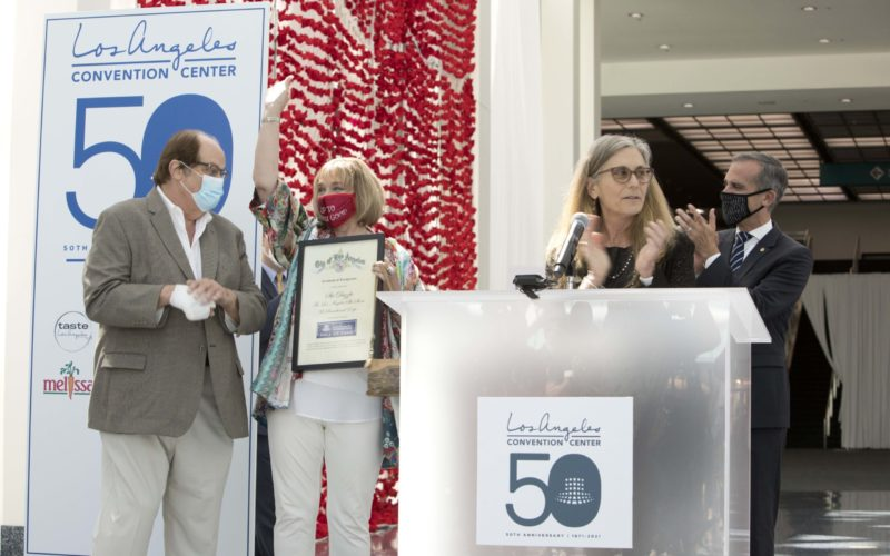 Los Angeles Convention Center introduces Hall of Fame