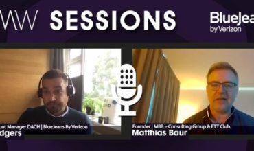 CMW Sessions – BlueJeans: Wertschöpfung aus virtuellen und hybriden Events