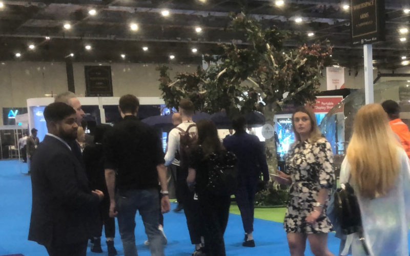 Welcome Back! International Confex opens at ExCeL London